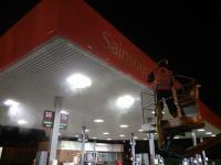 Petrol Station Forecourt Cleaning and Maintenance
