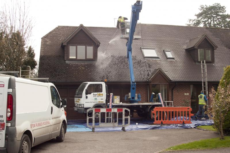 Doff roof cleaning in Surrey