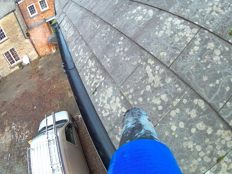 2 AFTER  GUTTER CLEANING 1
